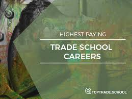 trade school careers